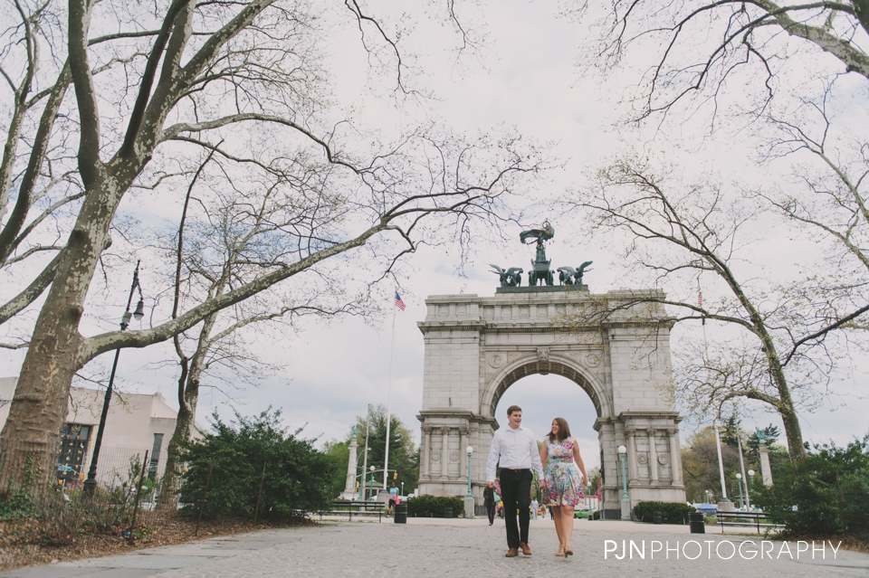 PJN Photography Alyson & Scott Engagement Session Prospect Park Brooklyn NY-1