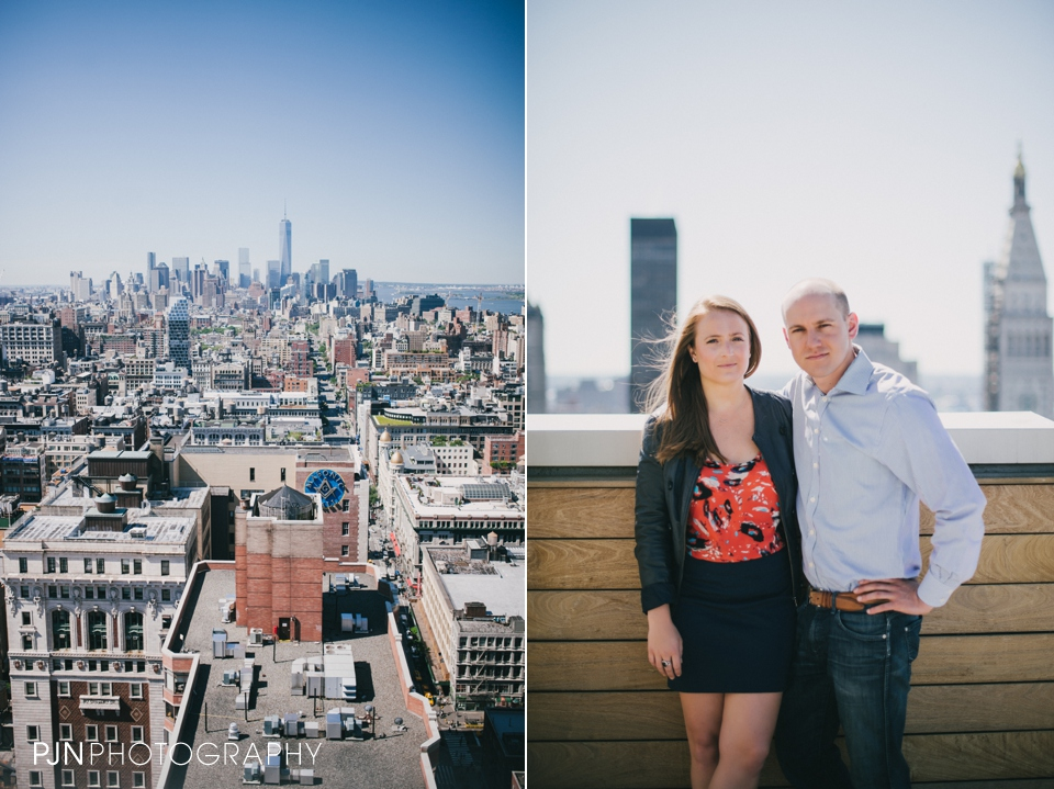 PJN Photography Kate & Matt Engagement Session Manhattan New York City-10