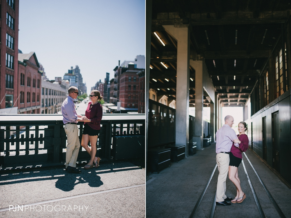 PJN Photography Kate & Matt Engagement Session Manhattan New York City-32