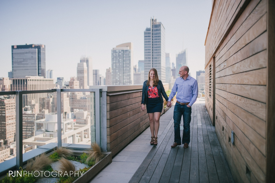 PJN Photography Kate & Matt Engagement Session Manhattan New York City-4
