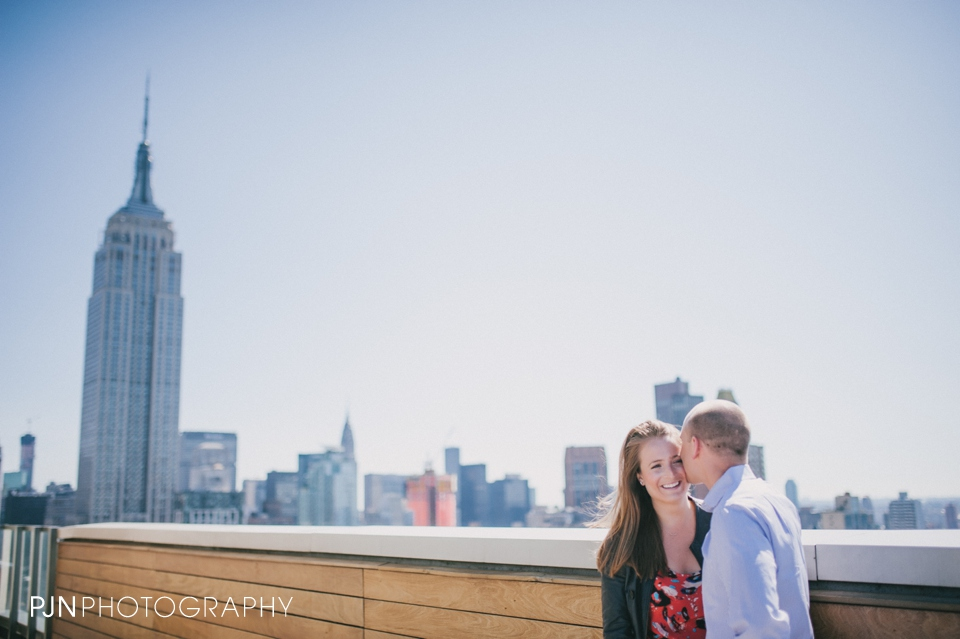 PJN Photography Kate & Matt Engagement Session Manhattan New York City-9