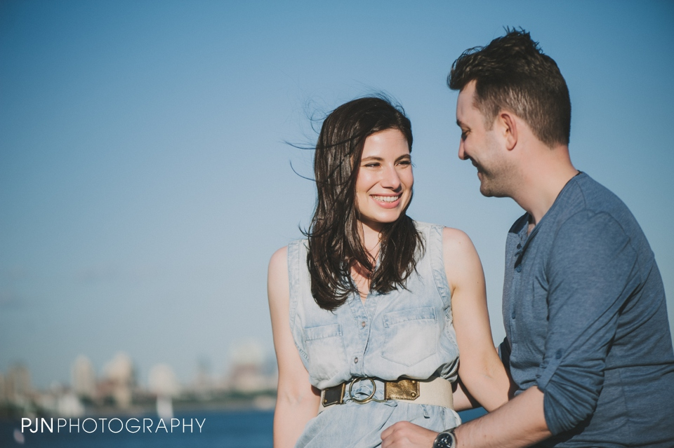 PJN Photography Victoria & Adam Engagement Liberty State Park New Jersey-13
