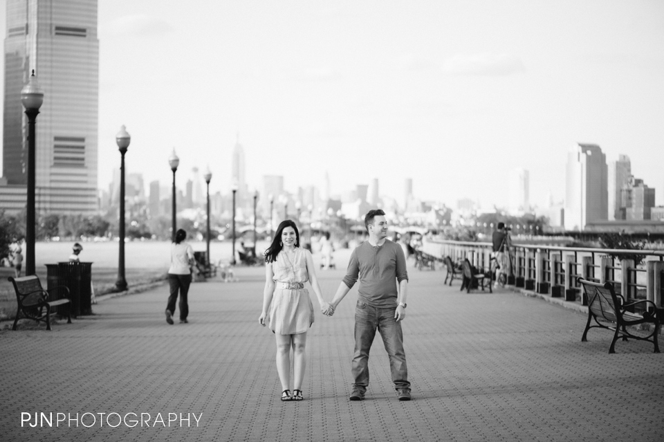 PJN Photography Victoria & Adam Engagement Liberty State Park New Jersey-18