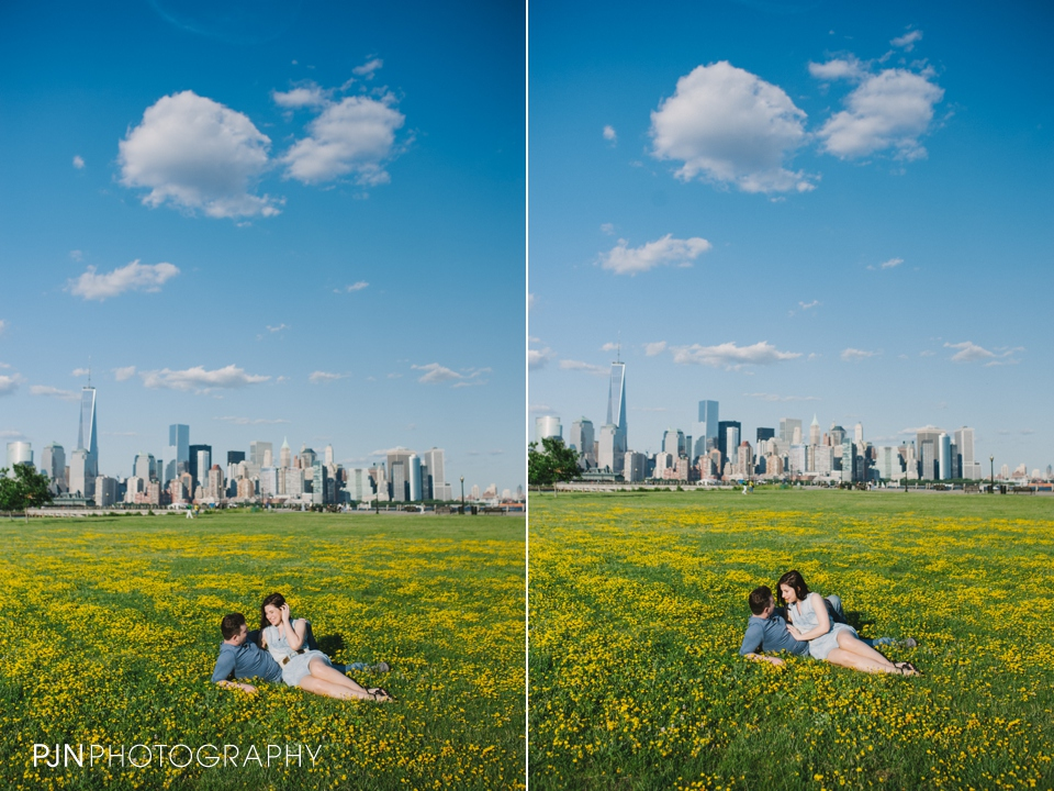 PJN Photography Victoria & Adam Engagement Liberty State Park New Jersey-2