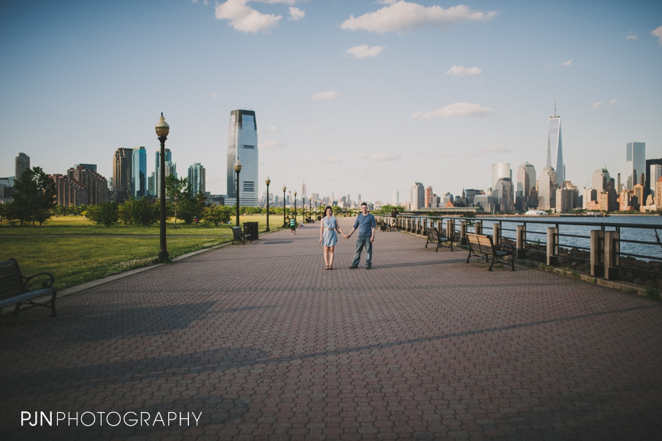 PJN Photography Victoria & Adam Engagement Liberty State Park New Jersey-20