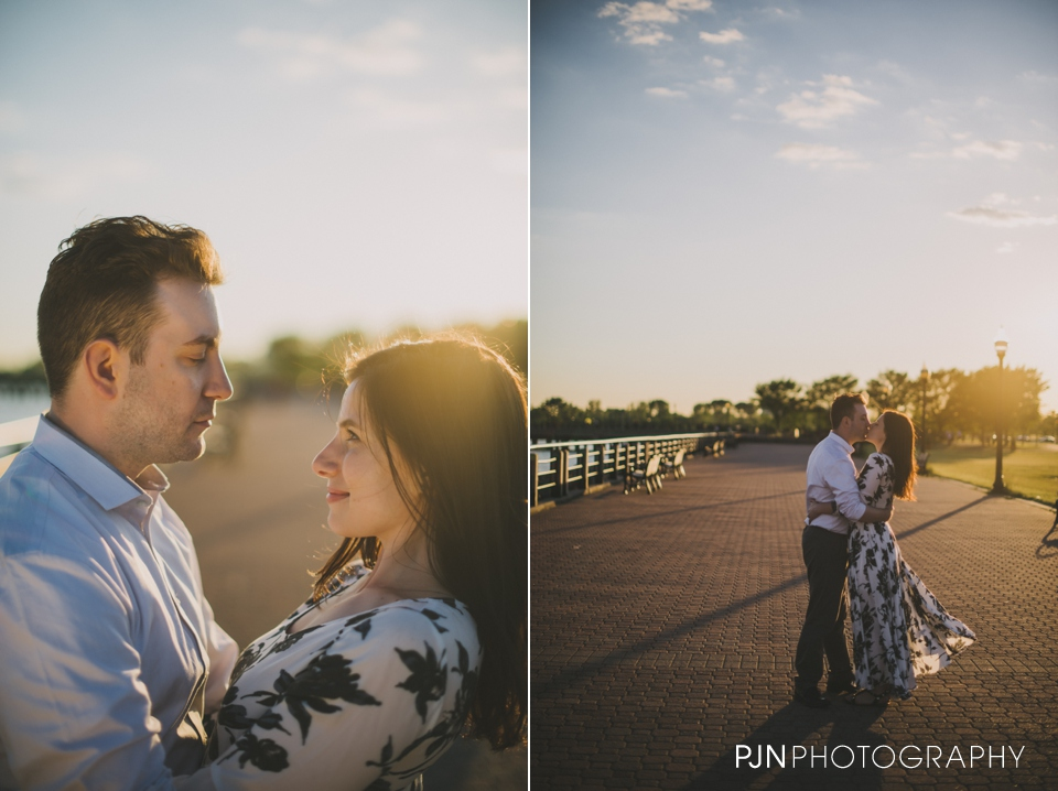 PJN Photography Victoria & Adam Engagement Liberty State Park New Jersey-23