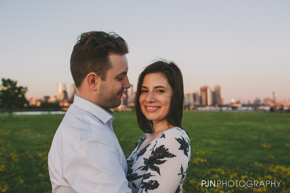 PJN Photography Victoria & Adam Engagement Liberty State Park New Jersey-52