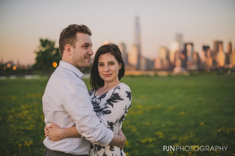 Victoria & Adam | Engaged | Liberty State Park, NJ