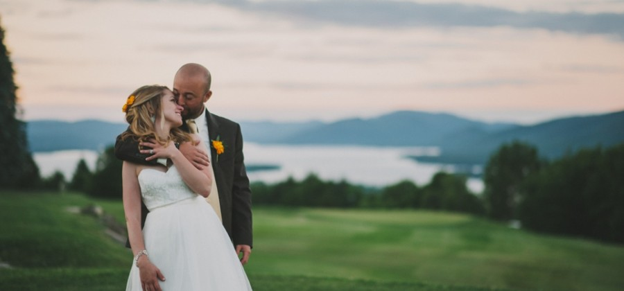 Megan & Jim | Wedding Reception | Top of the World, Lake George, NY