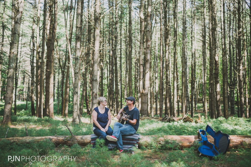 PJN Photography 20th Anniversary Engagement Session Adirondack Mountain Shelving Rock Falls New York-1