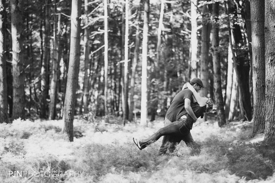 PJN Photography 20th Anniversary Engagement Session Adirondack Mountain Shelving Rock Falls New York-12