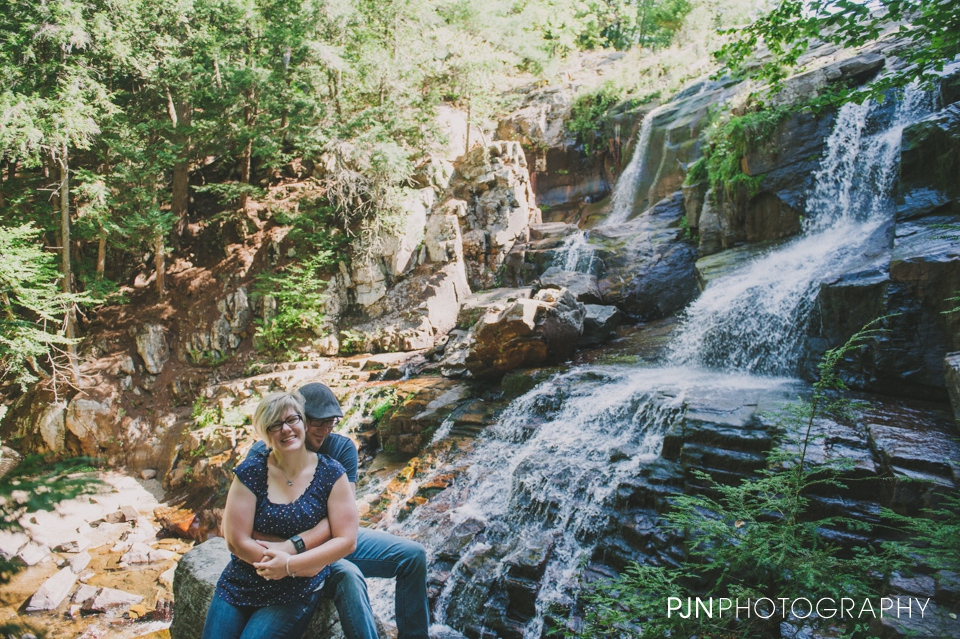 PJN Photography 20th Anniversary Engagement Session Adirondack Mountain Shelving Rock Falls New York-18