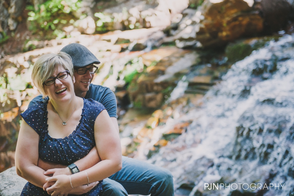 PJN Photography 20th Anniversary Engagement Session Adirondack Mountain Shelving Rock Falls New York-19