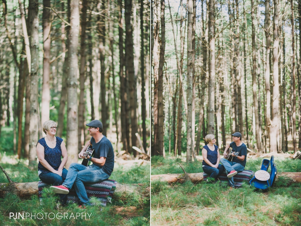 PJN Photography 20th Anniversary Engagement Session Adirondack Mountain Shelving Rock Falls New York-2