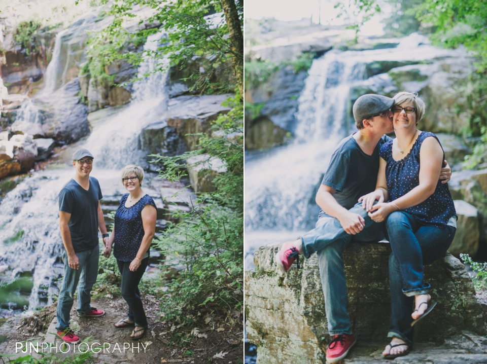 PJN Photography 20th Anniversary Engagement Session Adirondack Mountain Shelving Rock Falls New York-21