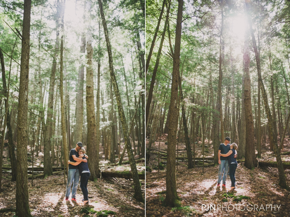 PJN Photography 20th Anniversary Engagement Session Adirondack Mountain Shelving Rock Falls New York-22