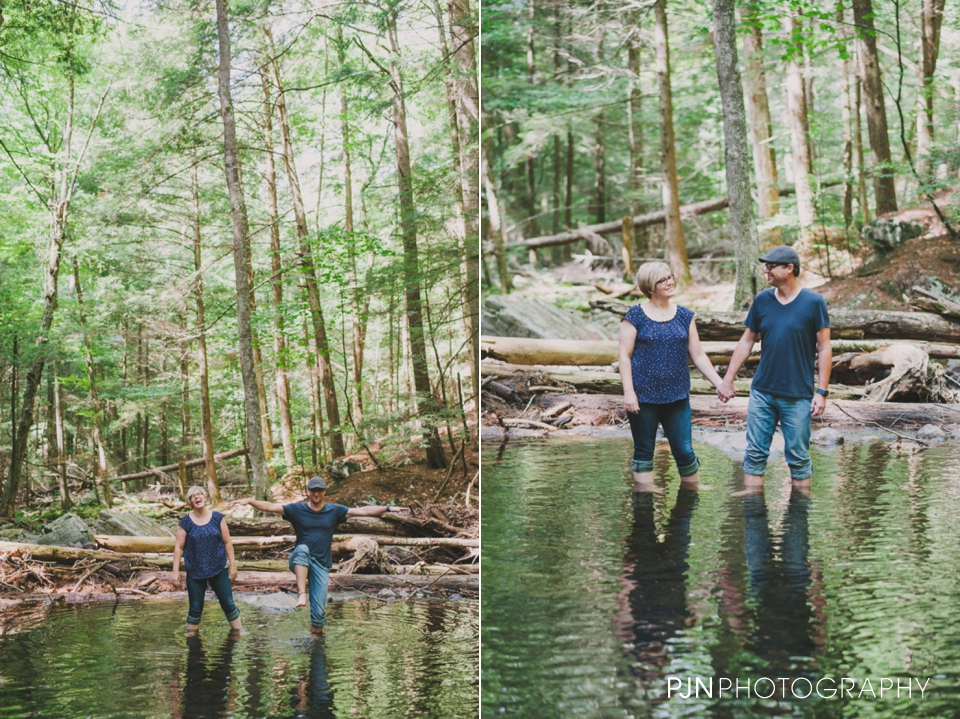 PJN Photography 20th Anniversary Engagement Session Adirondack Mountain Shelving Rock Falls New York-24