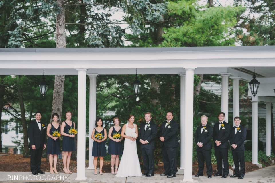 PJN Photography Megan & Brian's The Century House Latham New York Wedding-33