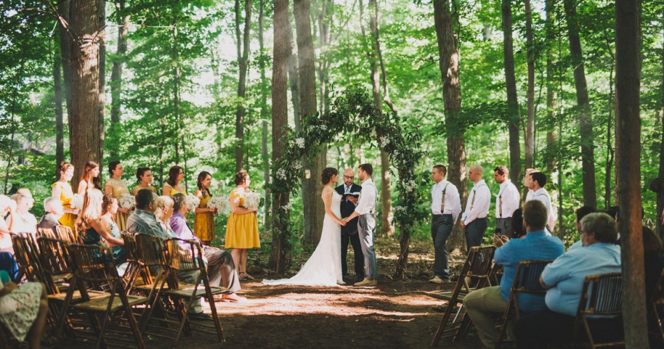 Alyssa & Marc's Forest Wedding