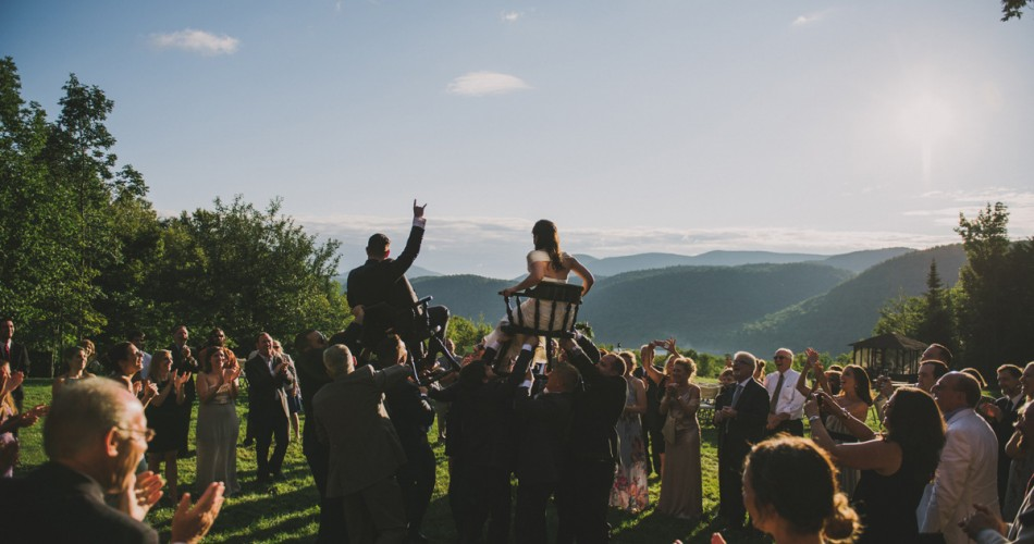 Victoria & Adam | Wedding | Garnet Hill Lodge, North River, NY