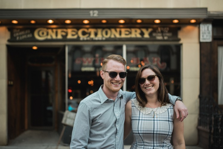 Erin & Casey's Troy New York Engagement Session