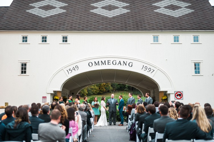 Brewery Ommegang Wedding, Cooperstown, New York